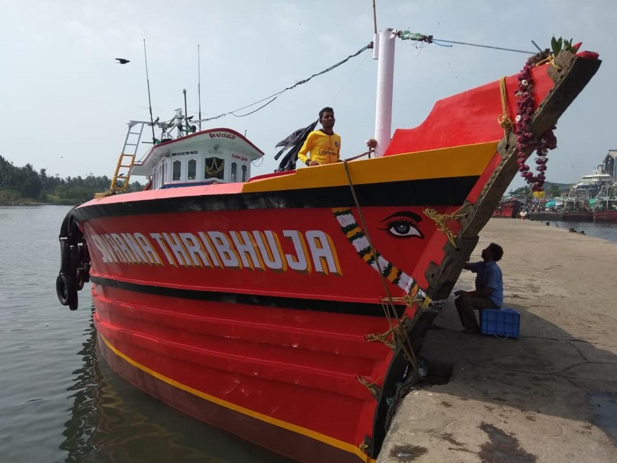 The missing boat 'Suvarna Thribhuja'.
