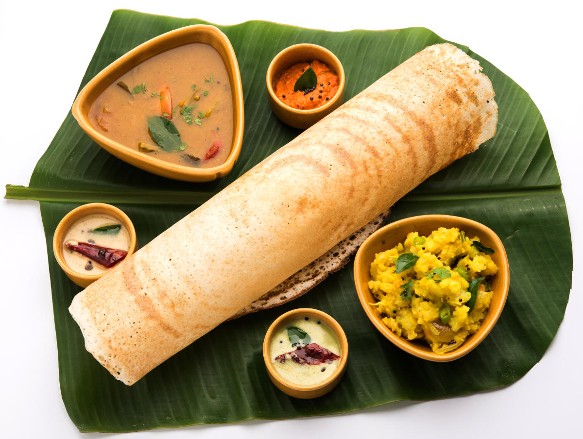 For thin & crisp dosas, the batter should be watery.