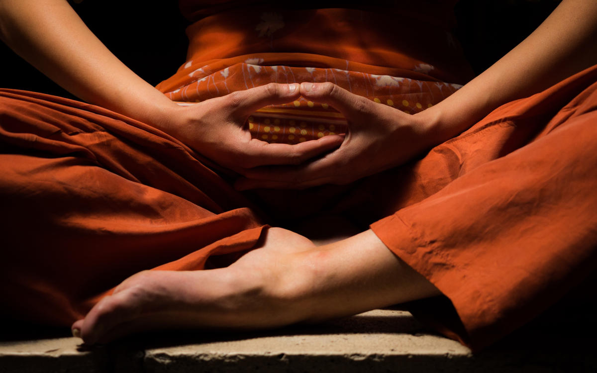Meditation helps in maintaining a healthy mind.