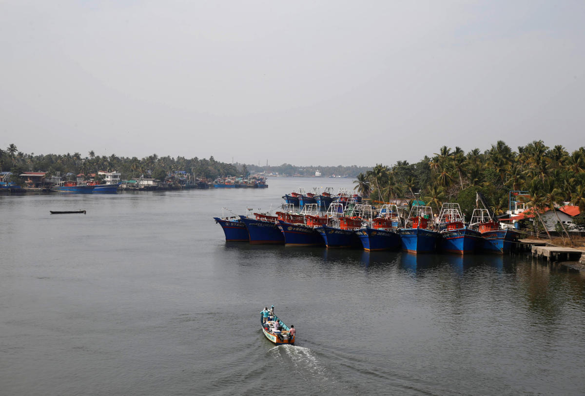 The boat, which is carrying people from New Delhi, the Indian capital, and the southern state of Tamil Nadu, left Munambam harbour in Kerala on Jan. 12, two officers involved in the case told Reuters.