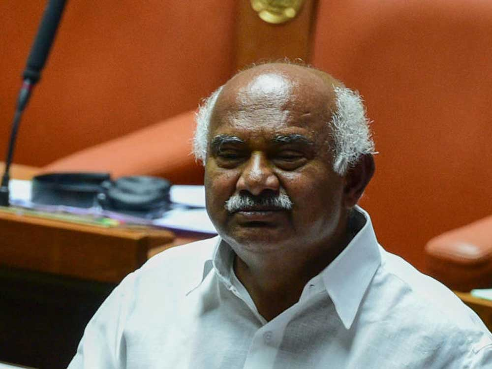 """""""The coordination committee isn't complete without the presidents of both parties,"""" Vishwanath told reporters here. """"How can there be coordination between the two parties without the party presidents? You should ask Siddaramaiah this,"""" he said. (DH File Photo)"""