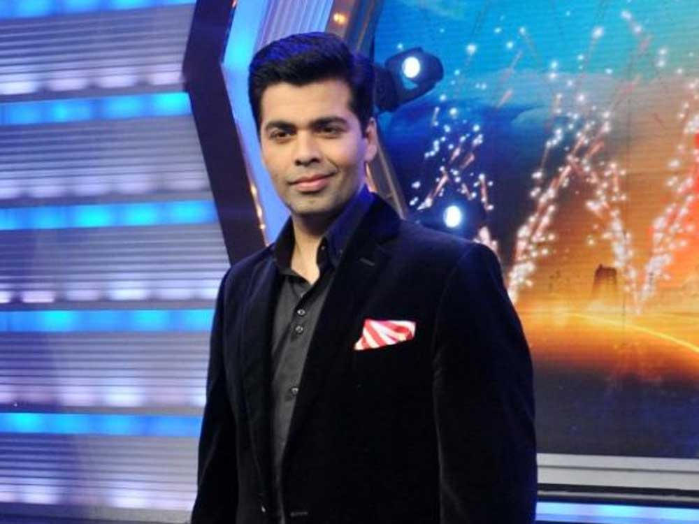 Filmmaker Karan Johar. File photo