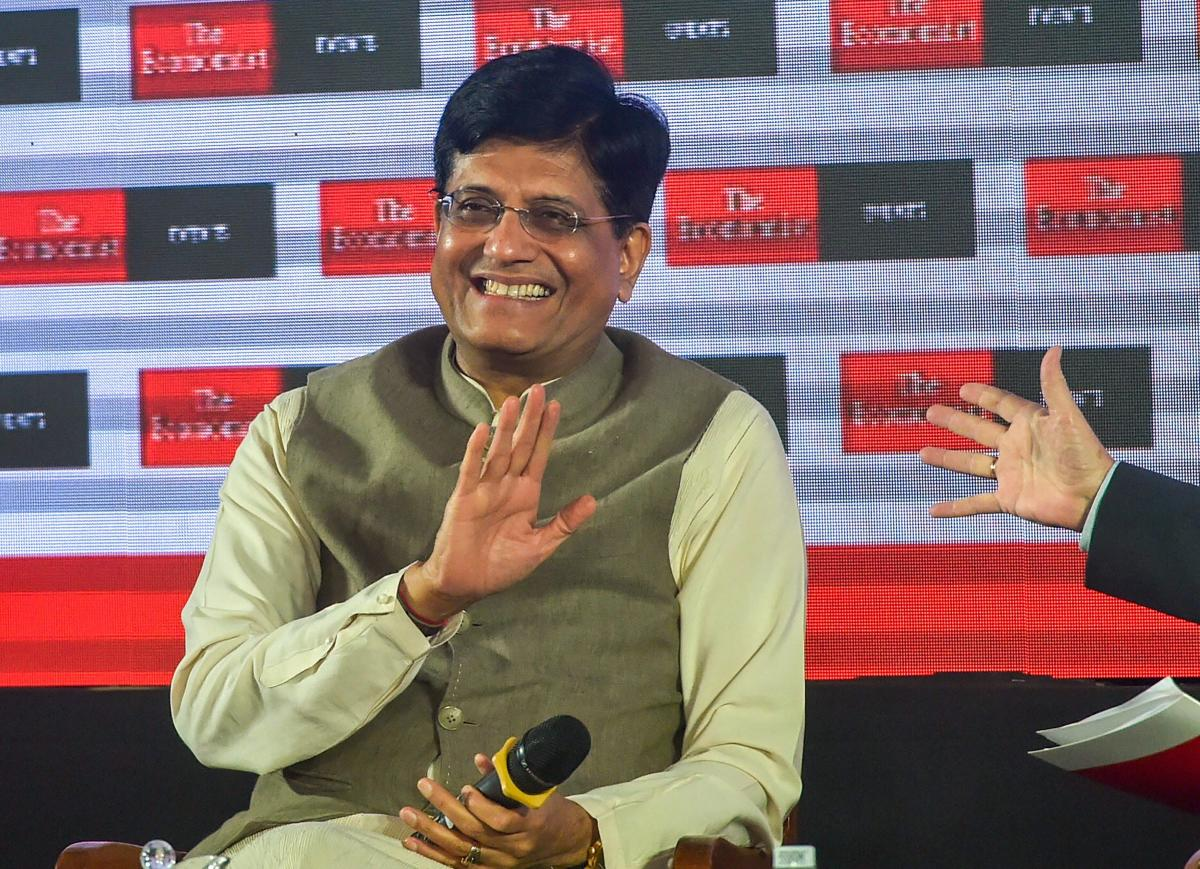 """Union minister Piyush Goyal said on Saturday that the Narendra Modi government discontinued the decades-old practice of presenting a separate railway budget to stop political parties from using it as a """"tool"""" to win elections. PTI photo"""