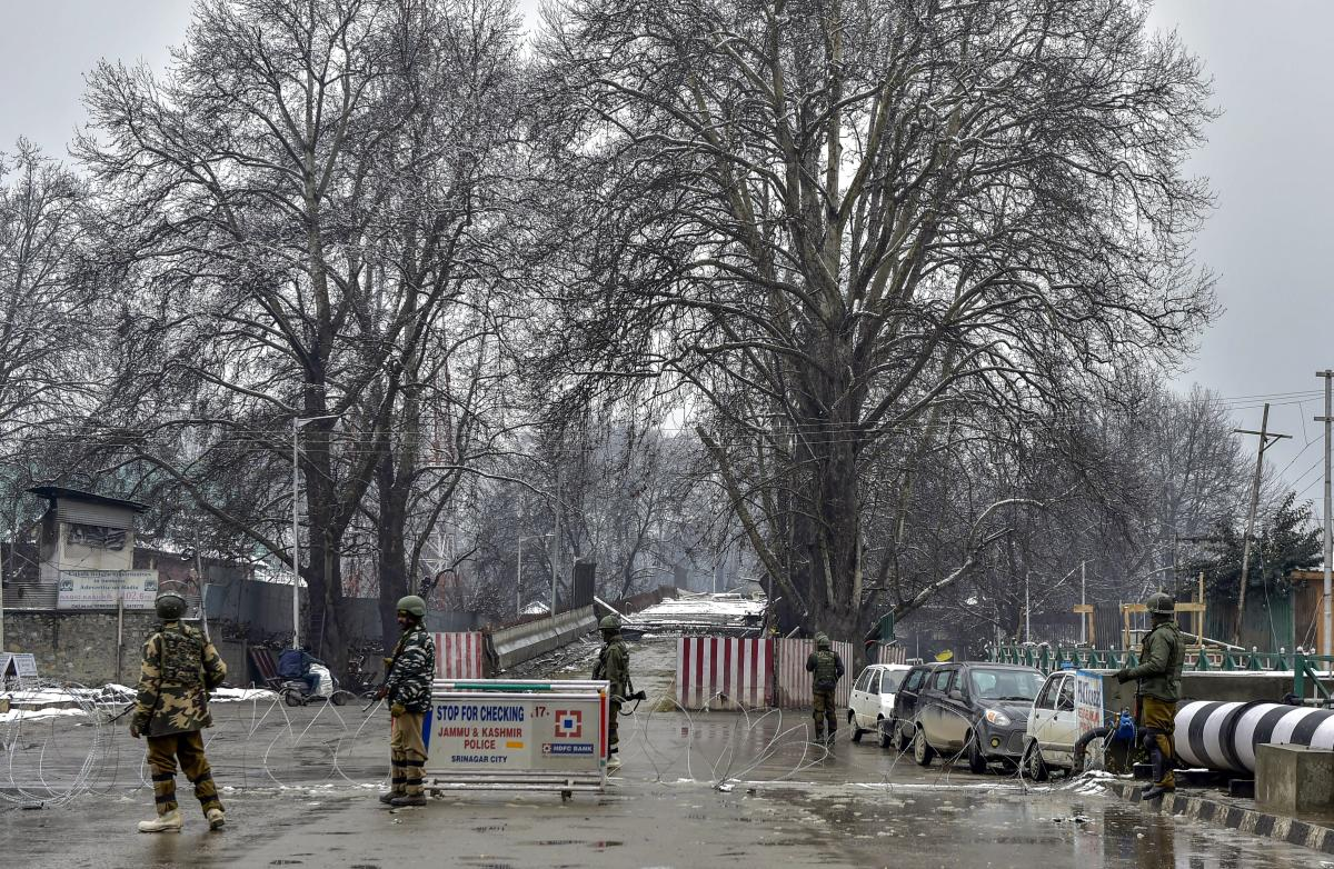 Security forces launched a cordon and search operation in Binner area of Baramulla district following information about presence of militants in the area, a police official said. PTI Photo