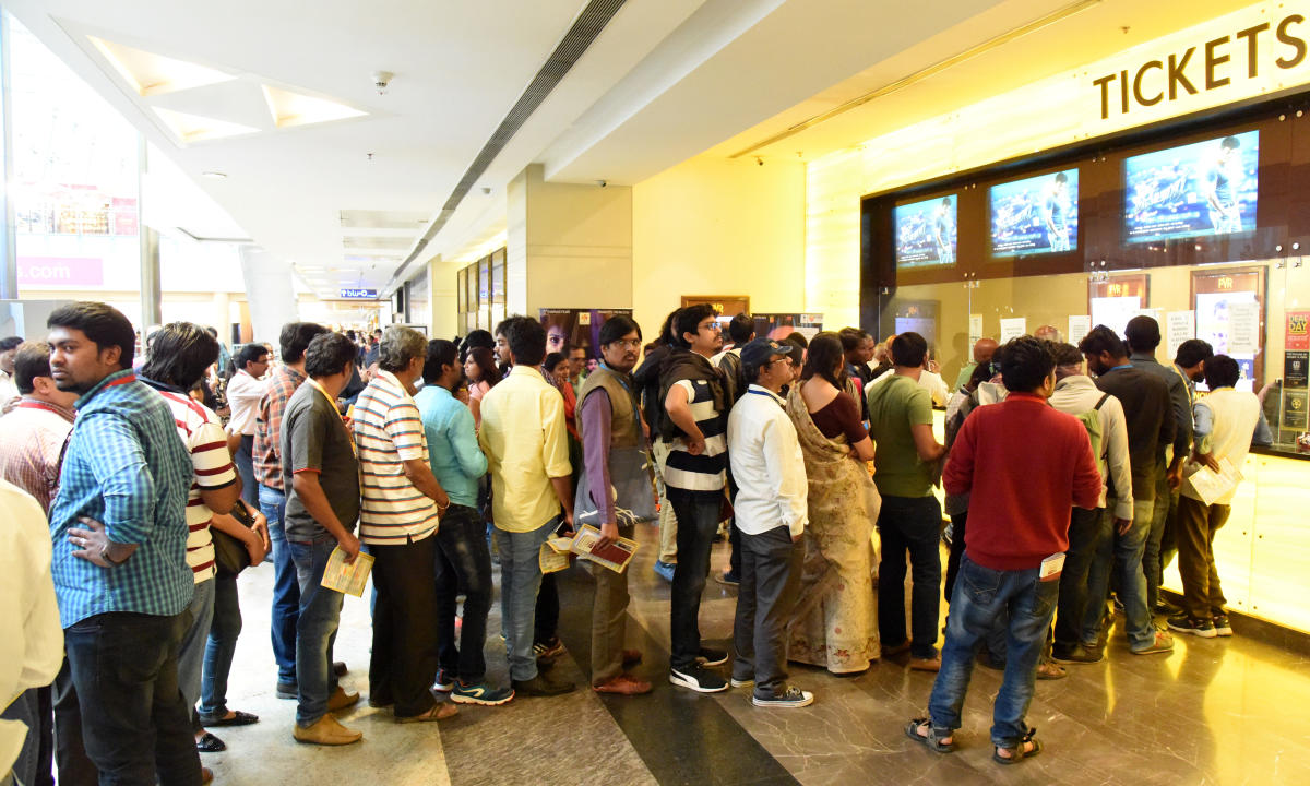 Film buffs will be treated to films from across the world at BIFFes. This is the a picture from last year's edition.