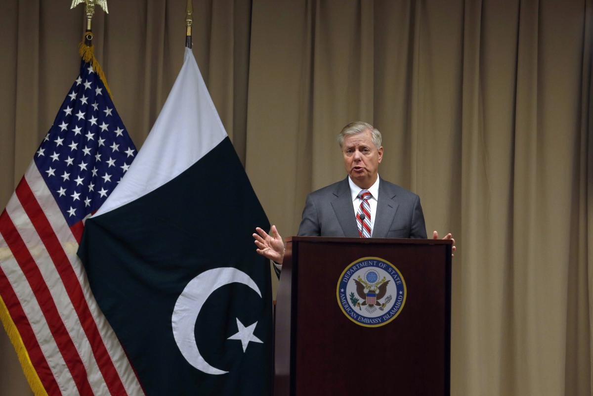 Dawn reported from Washington that official sources said that US Senator Lindsey Graham, who visited Islamabad this week, is believed to have discussed this idea with Pakistani leaders. AP/PTI Photo