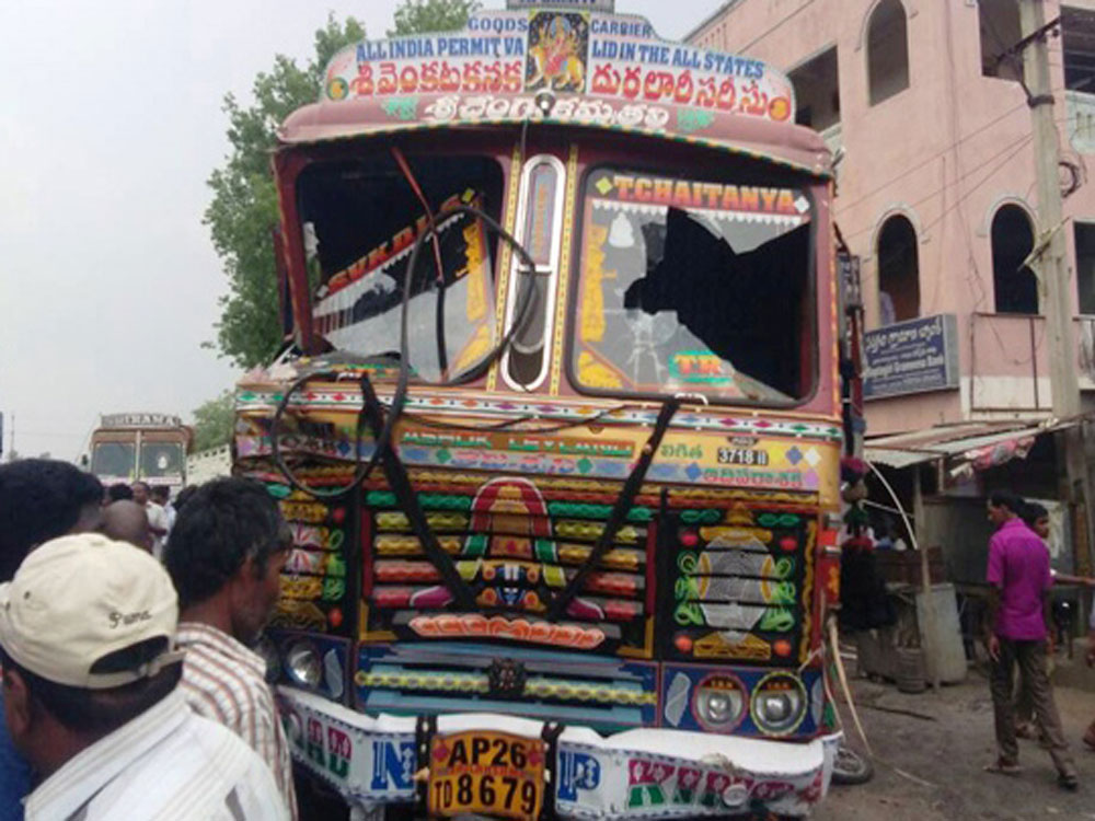 Six people died and eight were critically injured in a road accident in West Bengal's Birbhum district on Friday. The incident took place in the Dubrajpur area of the district when a truck loaded with paddy collided head-on with another truck.