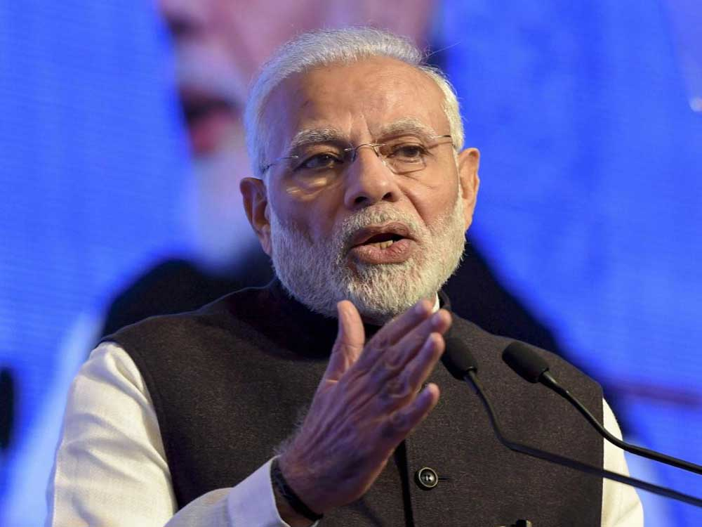 With Twitter turning into a new platform for political parties to fight their ideological battles, BJP cadre were trending #MaduraiThanksModi – an apparent reference to the party-led government's decision to construct AIIMS in Madurai, foundation for which will be laid by the Prime Minister on Sunday. PTI file photo.