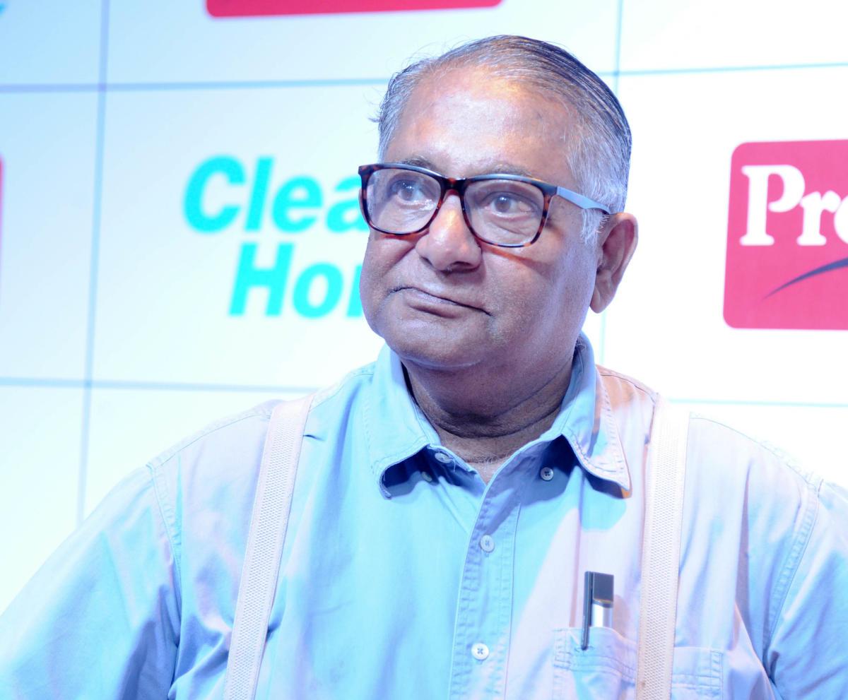Chairman of TTK Group T T Jagannathan.