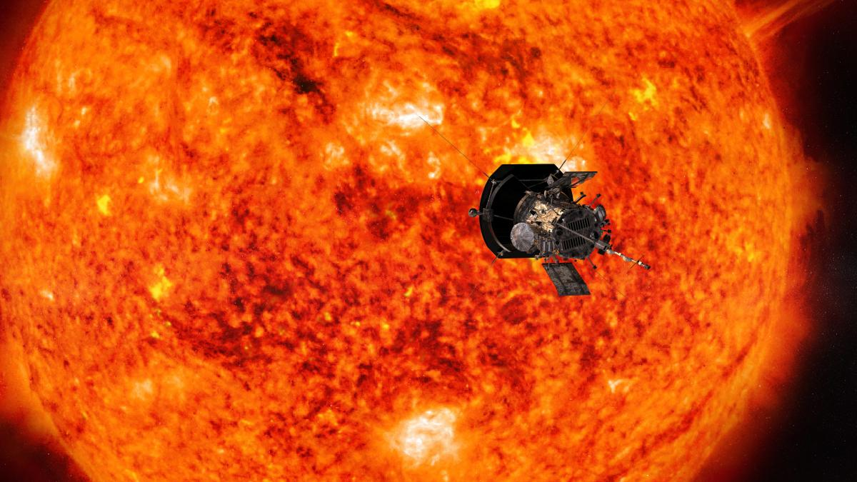 This illustration from NASA shows the Parker Solar Probe spacecraft approaching the sun. AP/PTI file photo