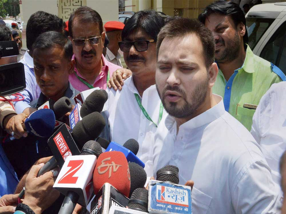 Bahujan Samaj will root out the BJP-led government from power in the upcoming Lok Sabha elections if their interests are ignored, Lalu Prasad's son and Rashtriya Janata Dal (RJD) leader Tejashwi Yadav warned Prime Minister Narendra Modi. PTI file photo