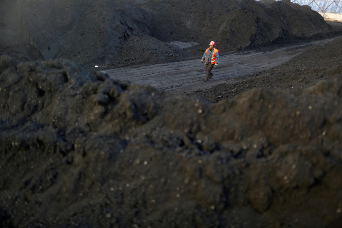 A coal coking plant in Yuncheng, Shanxi province, China. (Reuters File Photo)