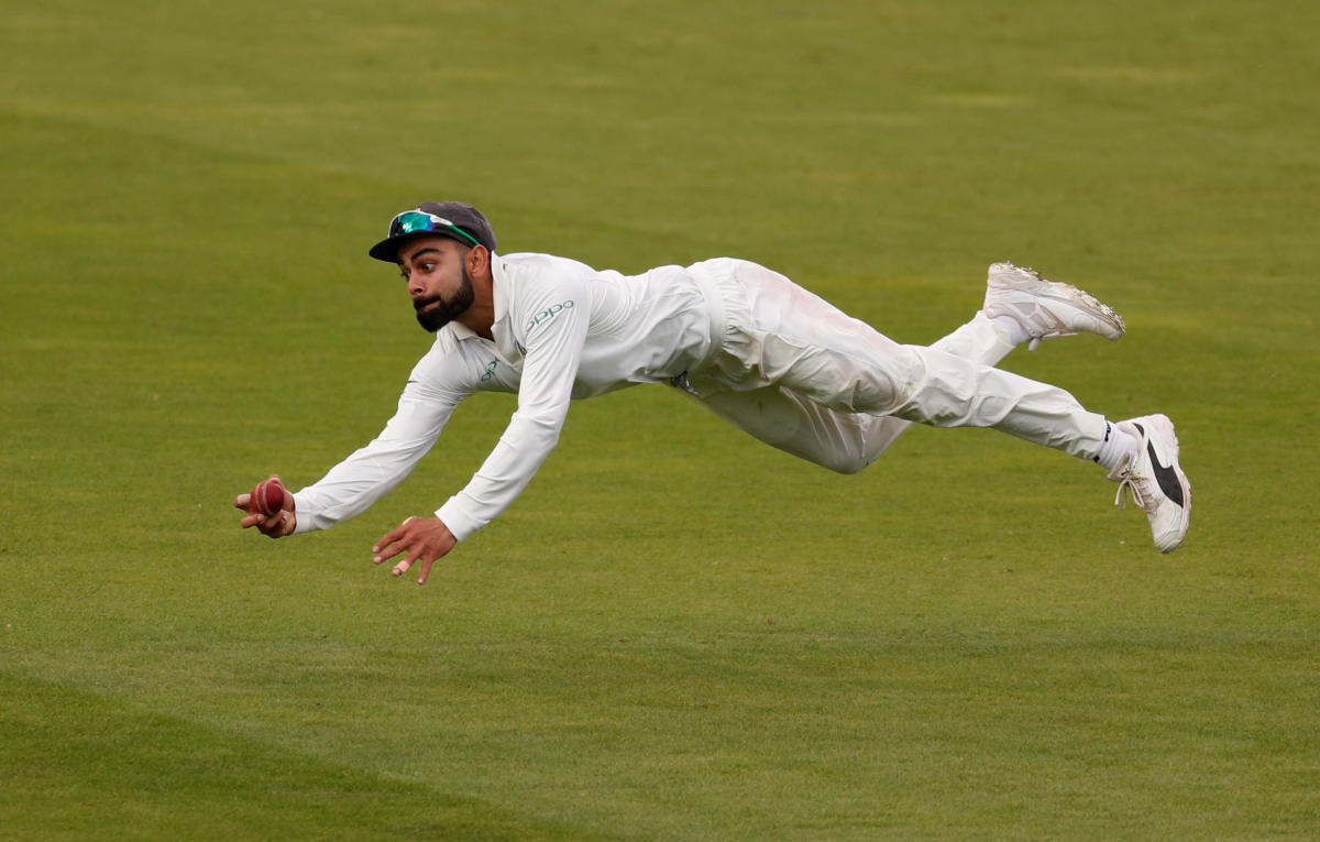 New techniques, with the aid of technology, used during practice have improved Indian fielders' catching abilities, feels fielding coach R Sridhar. Reuters File Photo