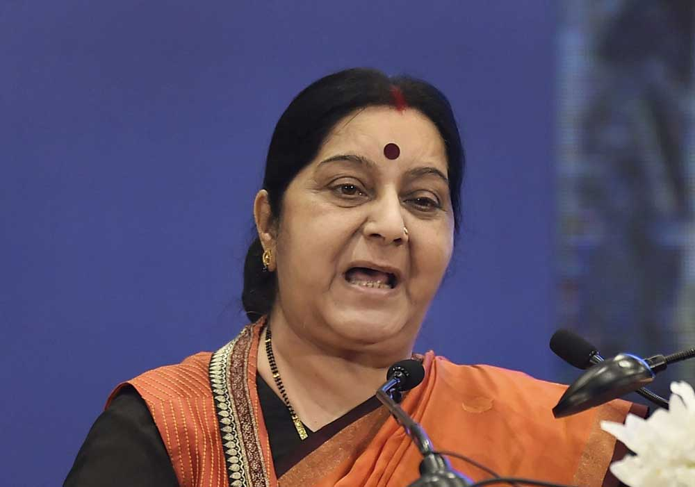 A meeting between External Affairs Minister Sushma Swaraj and Chinese Foreign Minister Wang Yi in Beijing is going to be the last major engagement between New Delhi and the communist country before the parliamentary elections in India. PTI file photo