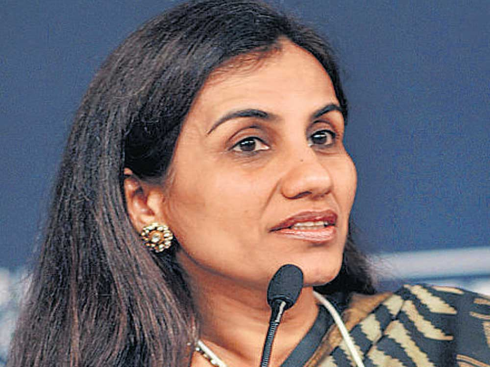 Chanda Kochhar, former CEO and MD of ICICI Bank. File photo