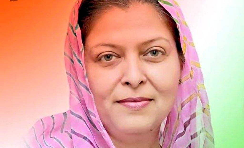 Congress candidate Shafia Zubair. DH photo