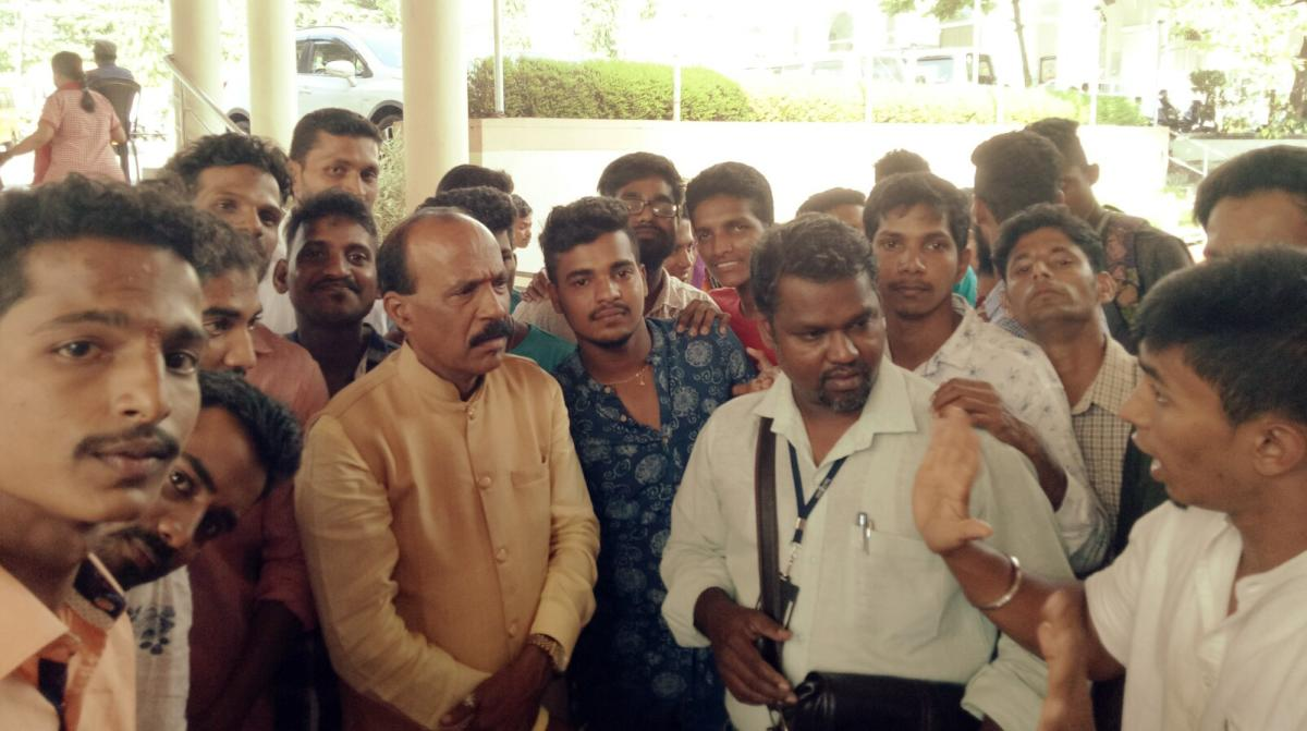 Youngsters with hearing and speech imparity experience hardships and humiliation while submitting applications for driving licence, said Vasanth Kumar Shetty, Administrator of Saanidhya Residential School and Training Centre for the mentally challenged, a