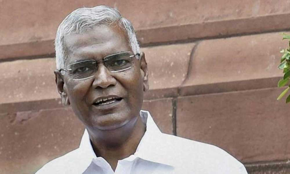 At the meeting called by the government to ensure smooth functioning of the Budget Session, the issue was raised by CPI National Secretary and Rajya Sabha MP D Raja to which the government informed him that it was presenting an interim budget.