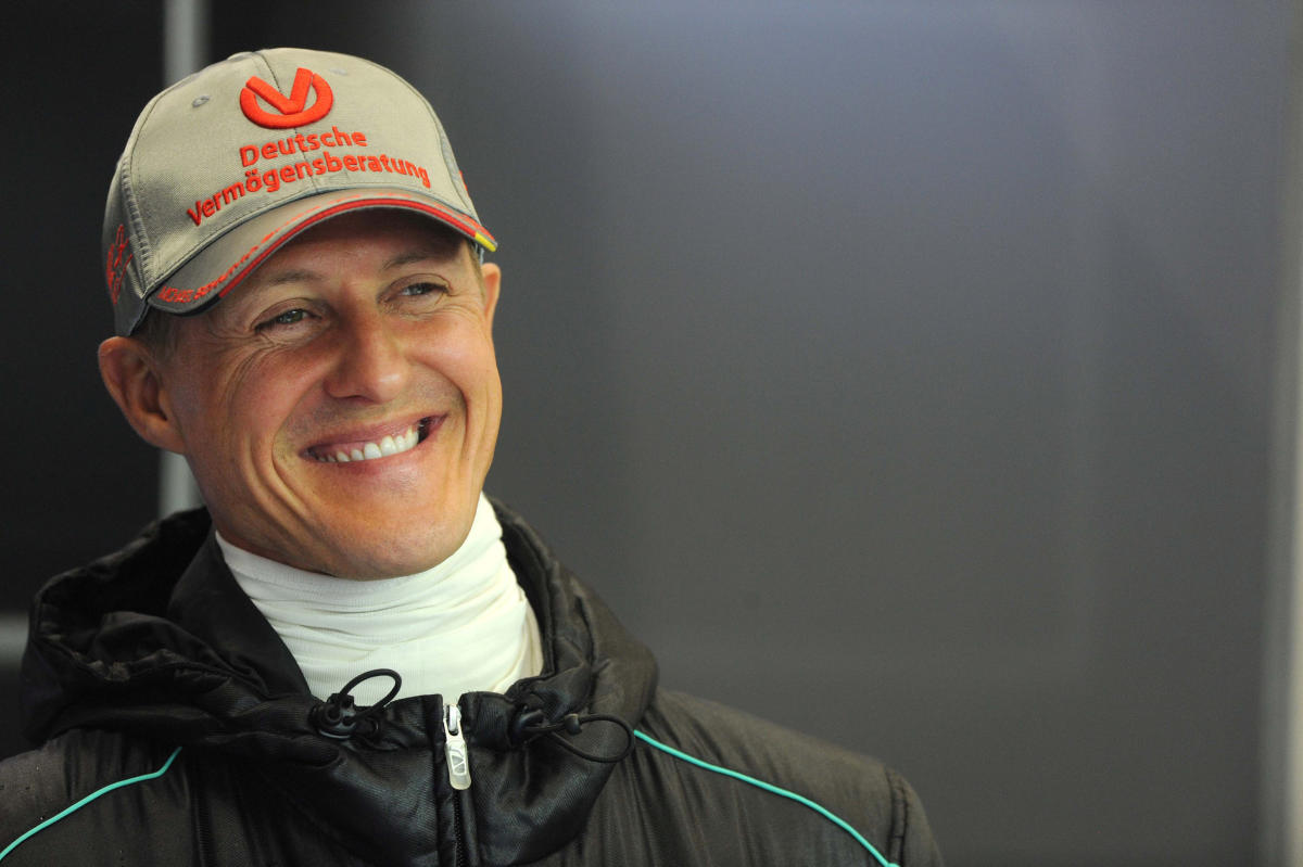 Michael Schumacher suffered head injuries in a skiing accident five years ago.