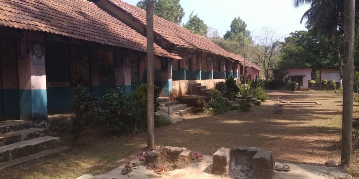 The Kookrabettu school building at Marodi.