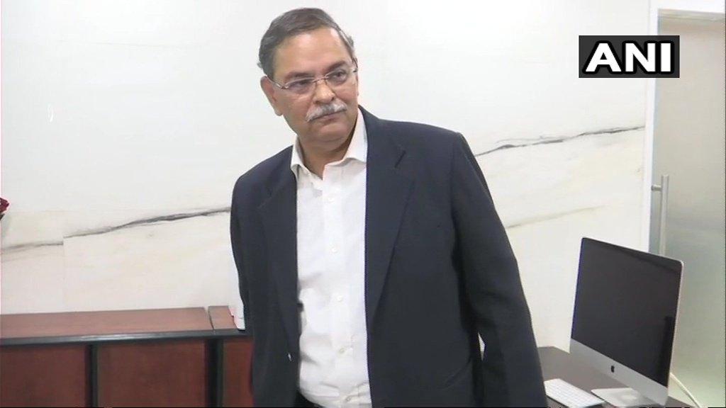 Rishi Kumar Shukla (Image courtesy Twitter/ANI)