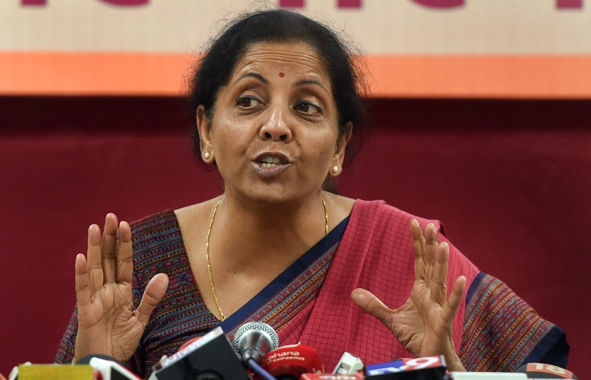 Defence Minister Nirmala Sitharaman. (PTI File Photo)