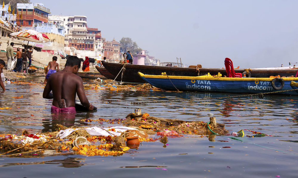 The Ganga Action Plan was launched in Varanasi on June 14, 1986, to reduce the pollution load on Ganga. (PTI File Photo)