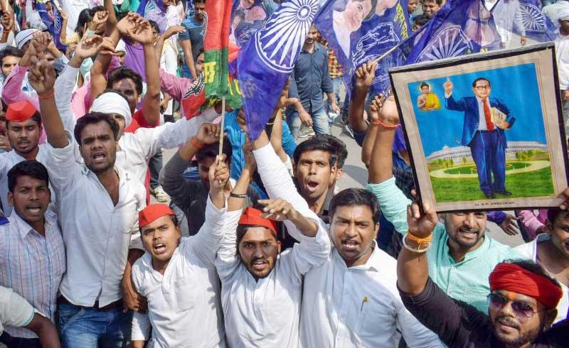 Dalit organisations on Saturday questioned this claim from the final budget of the Prime Minister Narendra Modi government. The Dalit Arthik Adhikar Andolan and National Campaign on Dalit Human Rights said in a statement that the increase of SC/ST funds is irrelevant to the communities since the direct allocation is meagre and violates the guideline on fund allocation. PTI file photo for representation.
