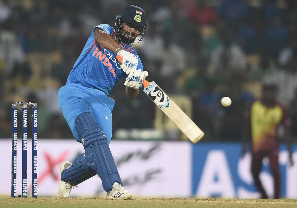 HUNGRY FOR MORE: In-form wicketkeeper-batsman Rishabh Pant will be hoping to set the stage on fire when the three-match T20Is against New Zealand kicks off on Wednesday. PTI