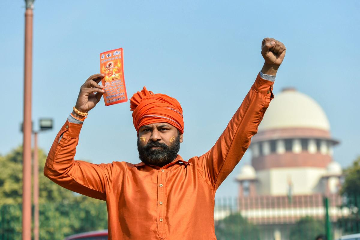 The petition, filed by seven individuals including two Lucknow-based lawyers claiming to be devotees of Ram Lalla, has contended that Parliament has no legislative competence to acquire land belonging to the state. (PTI file photo for representation)