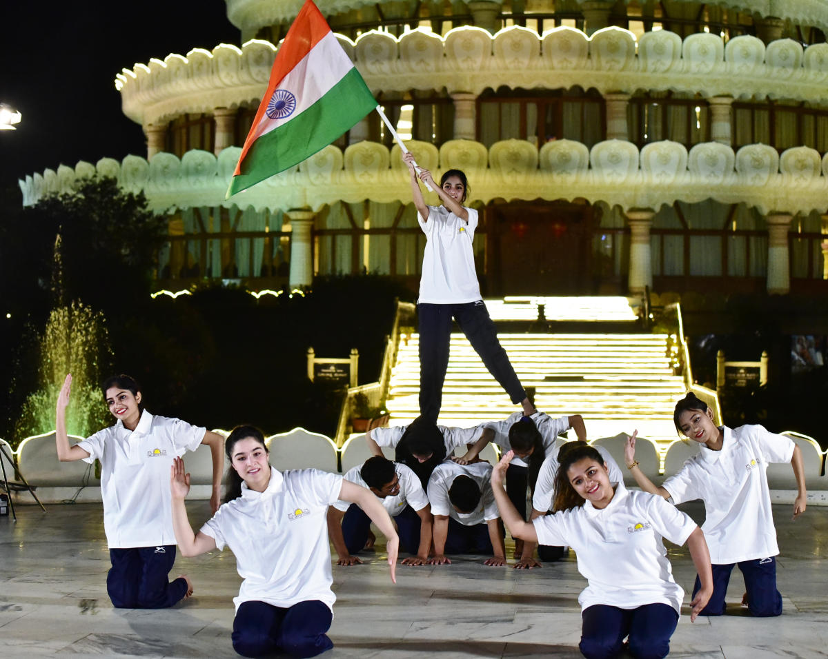 A cultural performance by 42 youngsters who were victims of communal violence.