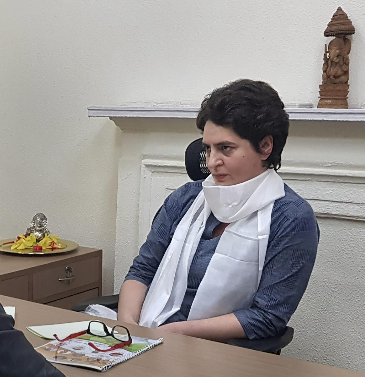 Priyanka Gandhi was appointed a Congress general secretary last month, a move that ended years of speculation over her induction into the party.