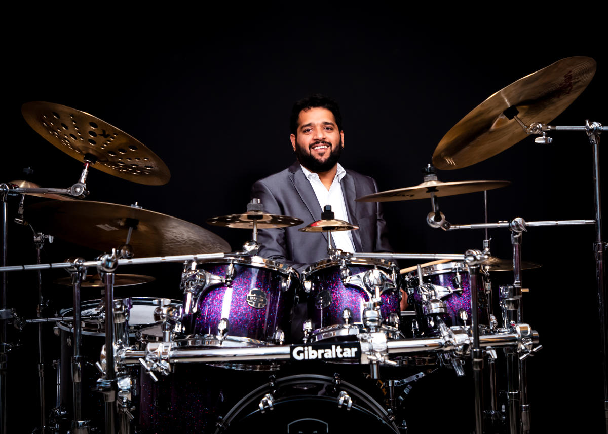 Arun Kumar learnt from his father B S Sukumar and well-known drummer Ranjit Barot.