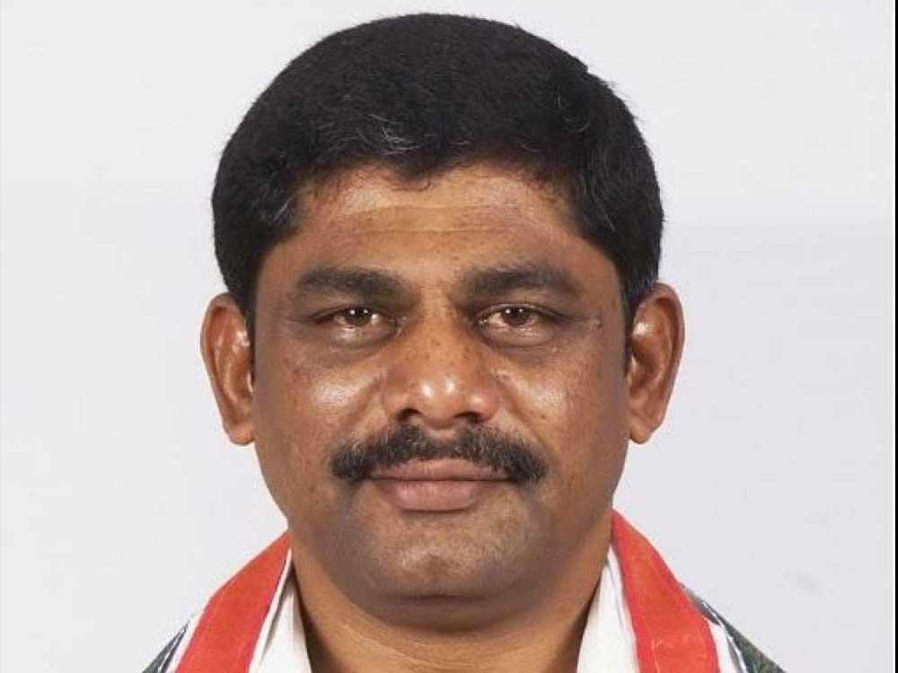 Congress MP DK Suresh. DH file photo