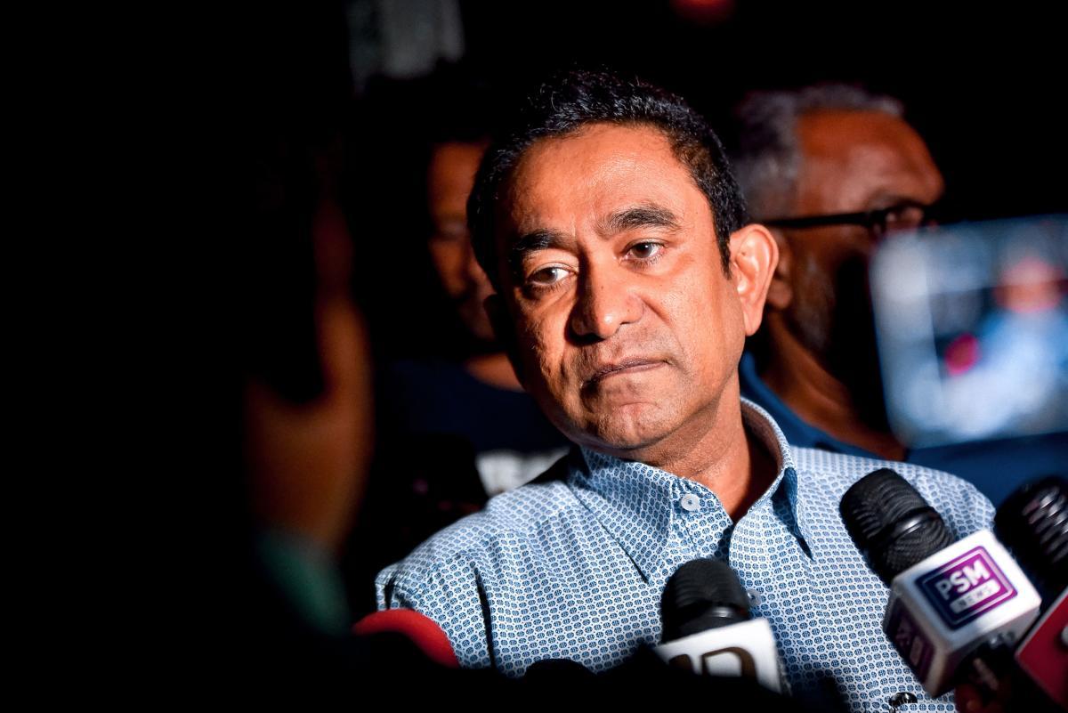 Abdulla Yameen. AFP file photo.