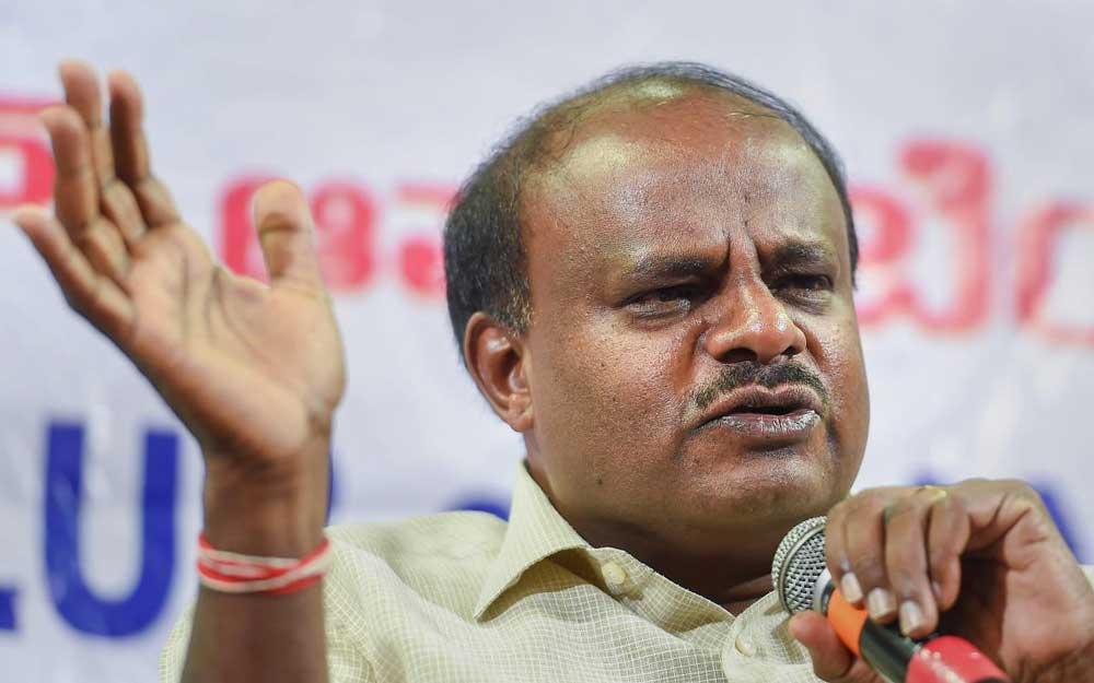 Karnataka Chief Minister H D Kumaraswamy. (PTI File Photo)