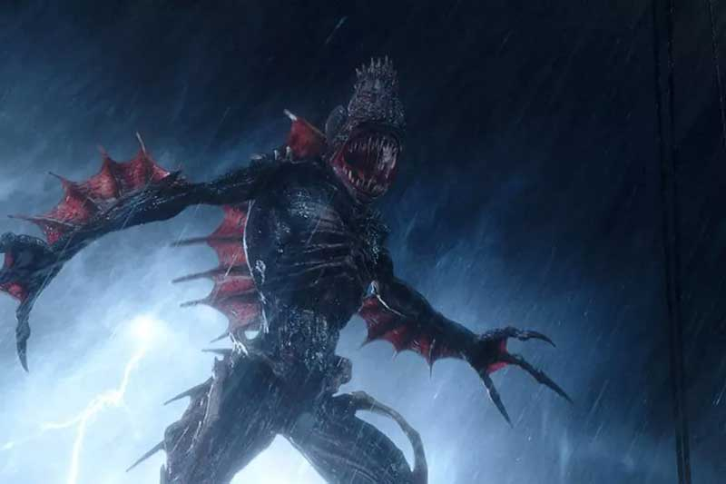 The Trench creatures, created by Geoff Johns, first appeared as the antagonists in the Aquaman storyline in 2011. (Screengrab)
