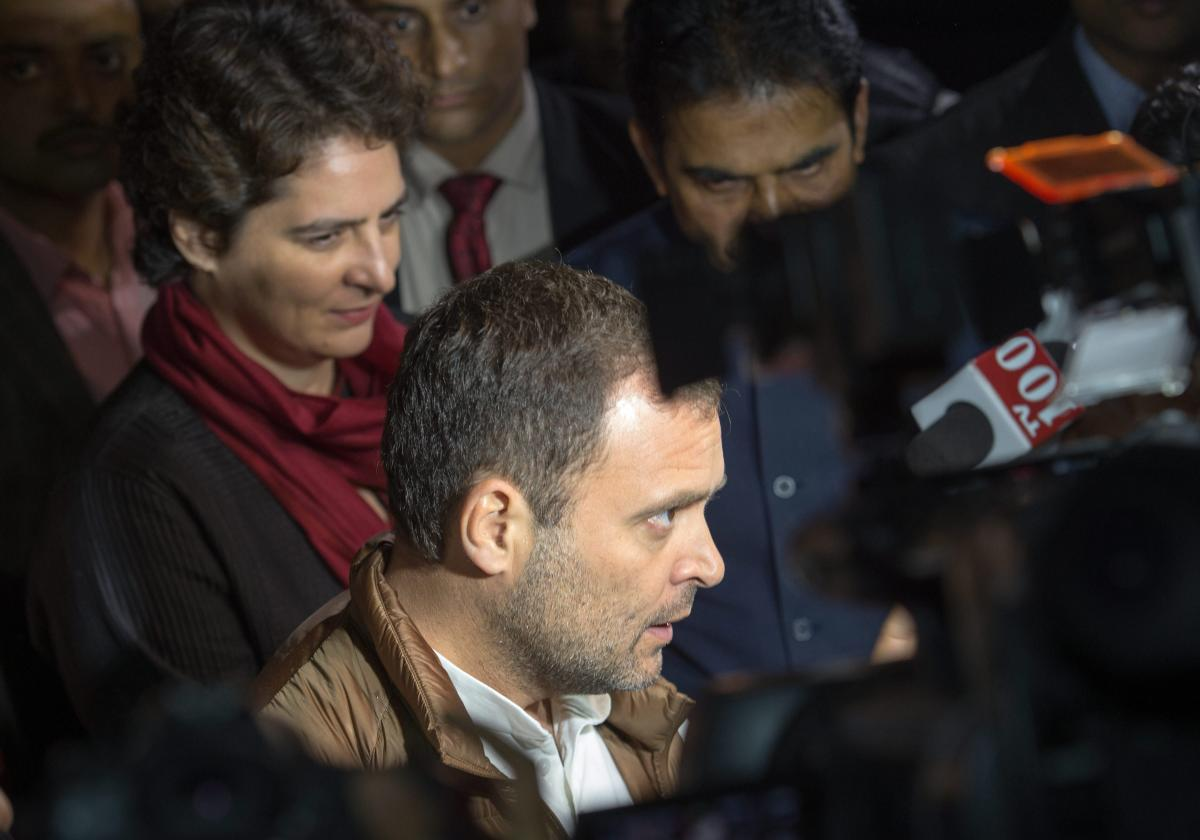 """The Rahul-Priyanka duo will make a """"great team"""" along with many other young leaders active in the party, Pitroda said. (PTI Photo)"""