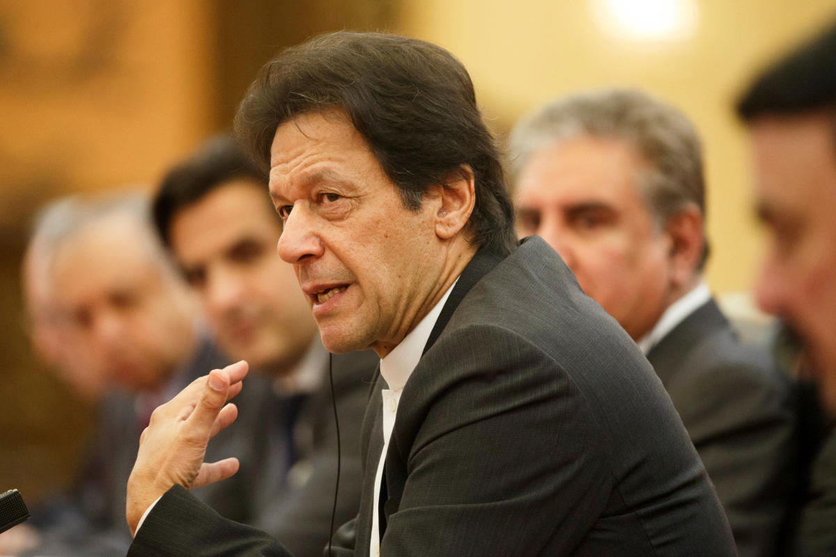 Pakistan Prime Minister Imran Khan on Saturday alleged that people of minority communities had to live like second class citizens in India. Reuters file photo