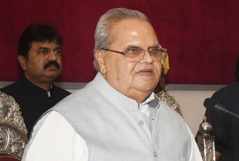 Jammu and Kashmir Governor Satya Pal Malik (PTI File Photo)