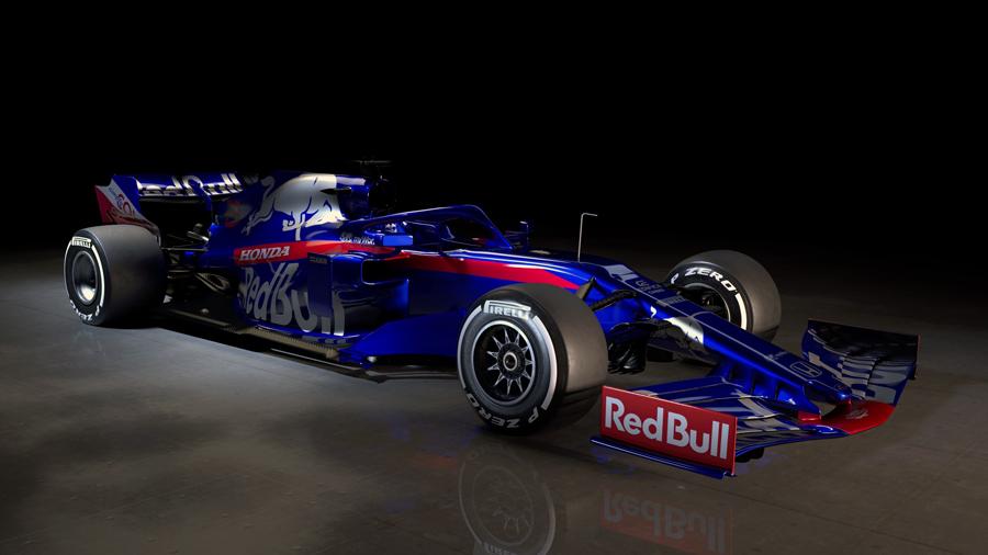 The Scuderia Toro Rosso STR14 car. Picture credit: Scuderia Toro Rosso