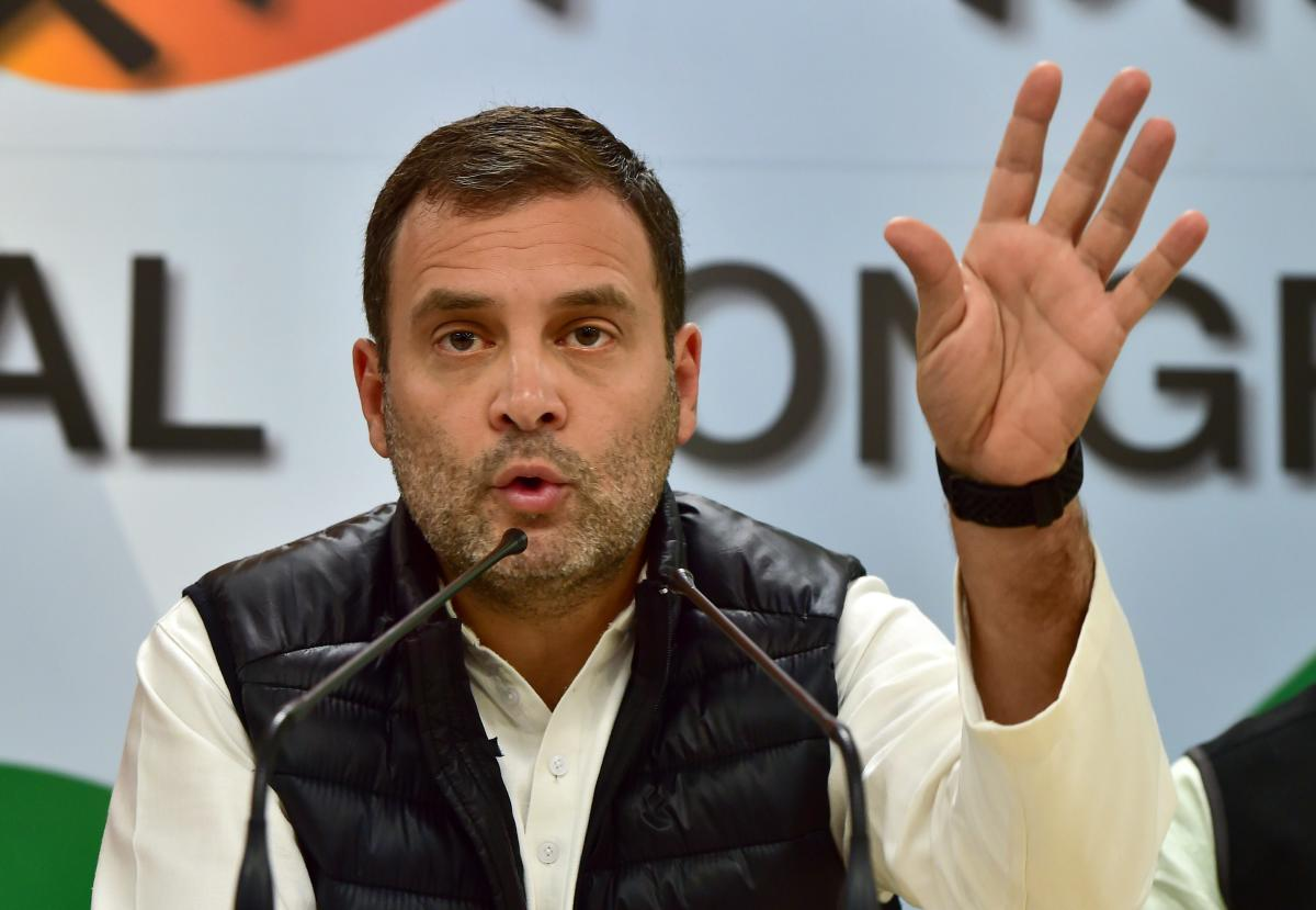 Congress president Rahul Gandhi on Tuesday accused Prime Minister Narendra Modi of acting as a middleman of Anil Ambani in the Rafale jet deal, as he cited an e-mail to claim the businessman was aware of the MoU before India and France signed it. PTI file