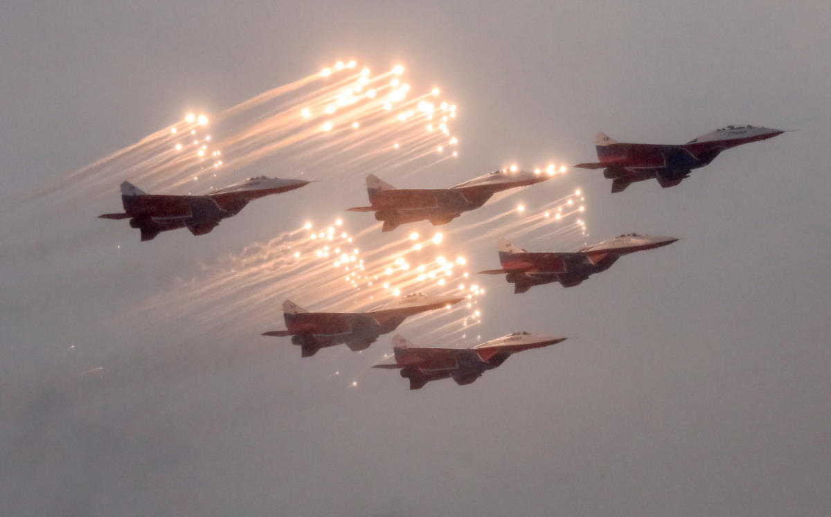 IAF officials said that Russia had agreed to upgrade these aircraft— manufactured in the 1980s but lying unused for a long time— so that they can be at par with the existing three squadrons of MiG-29s that the IAF is upgrading at the moment. Reuters file photo.