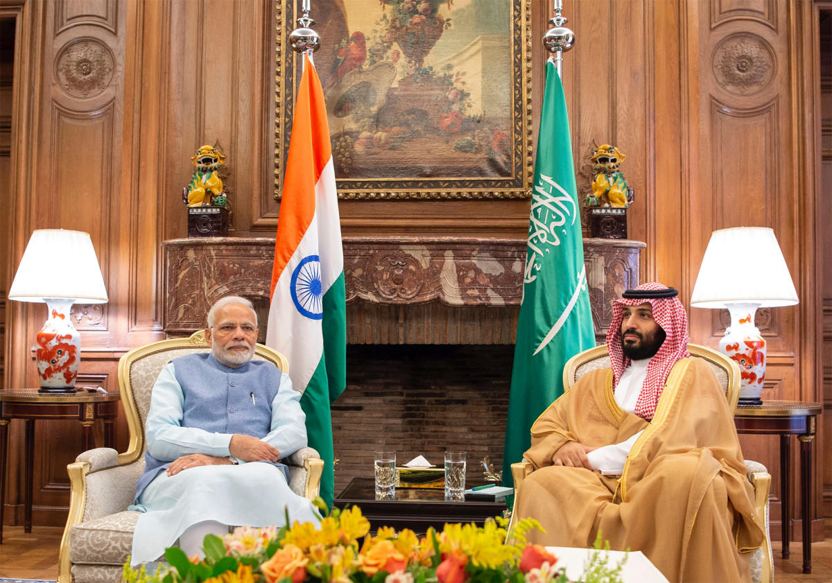 """Prime Minister will call upon Saudi Arabian crown prince to help keep energy prices stabilised for India. He is also likely to raise the pitch for abolishing the """"Asian Premium"""" on energy exports by the OPEC nations to India, China and other nations in Asia. Reuters file photo."""