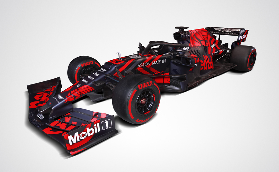 The Red Bull RB15 car. Picture credit: Aston Martin Red Bull Racing