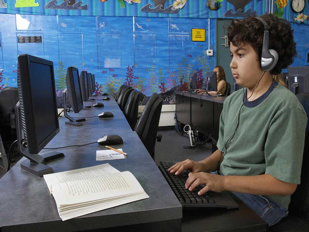 Tech-driven schools, tech-free students