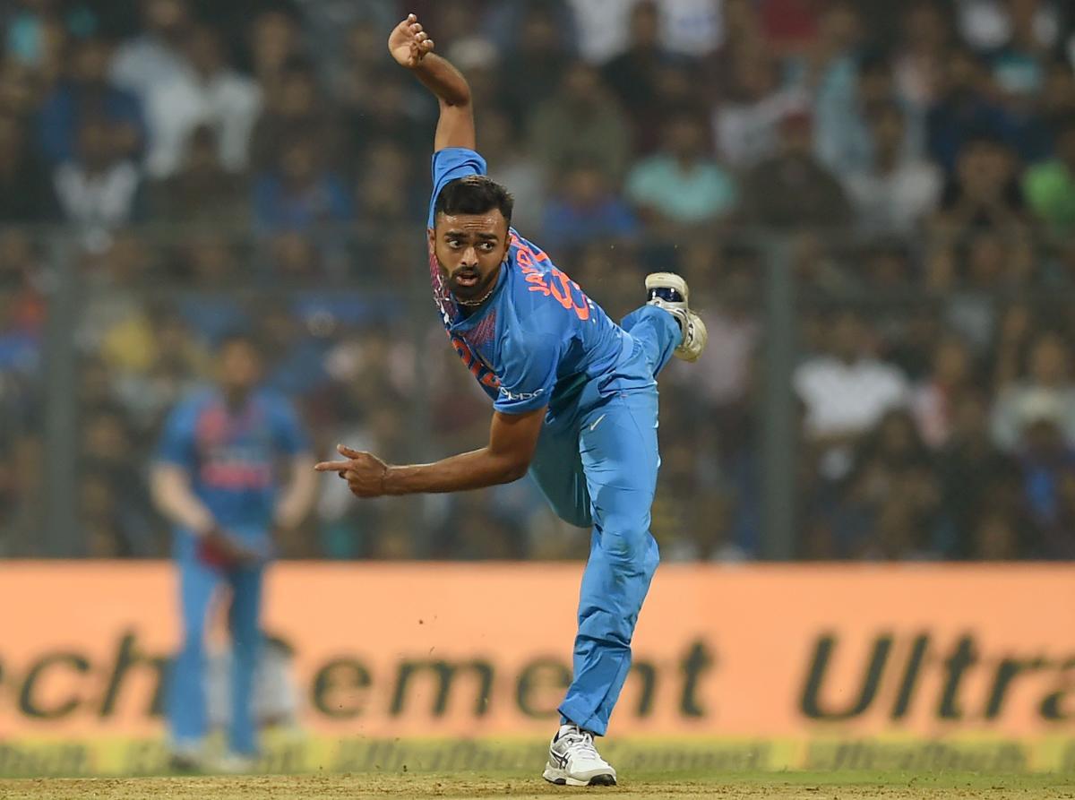Jaydev Unadkat. AFP file photo.