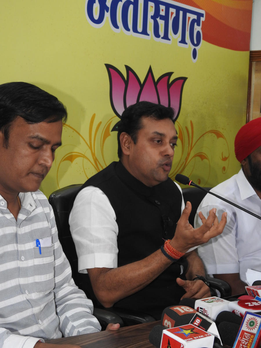 """BJP spokesperson Sambit Patra said his remarks were """"the biggest attack on the apex court in political history""""."""