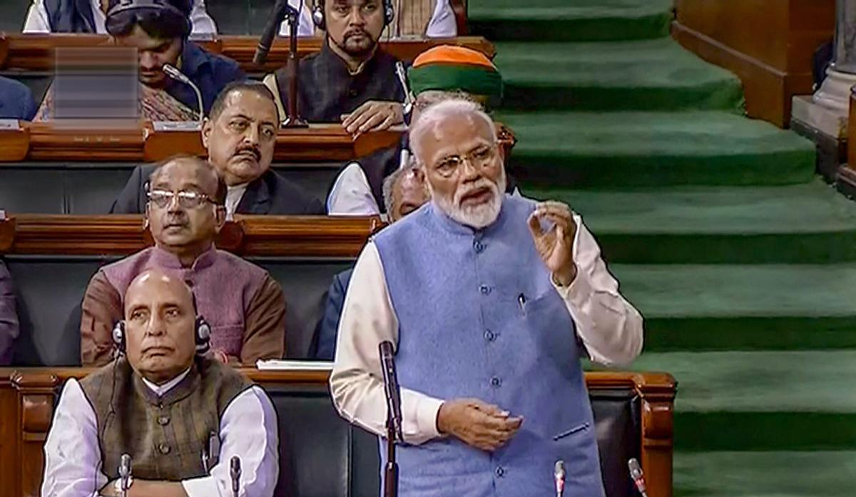 In his speech which was a kind of valedictory address on the last day of the last Session of 16th Lok Sabha, Modi, a first time Member of Parliament (MP), also heaped praises on the Lok Sabha speaker Sumitra Mahajan and senior members of the House including Congress leader Mallikarjun Kharge and Samajwadi Party supremo Mulayam Singh Yadav.