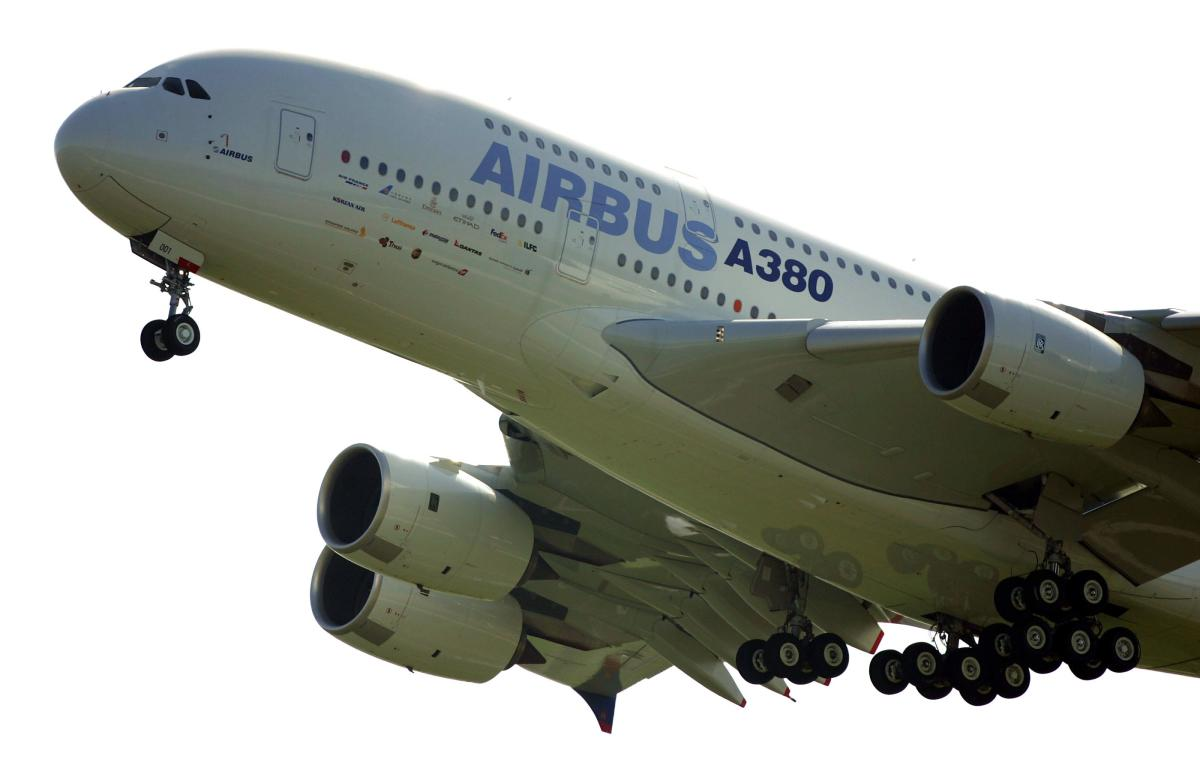European aerospace giant Airbus said on February 14, 2019 it would end production of the A380 superjumbo, the double-decker jet which earned plaudits from passengers but failed to win over enough airlines to justify its massive costs. AFP file photo.